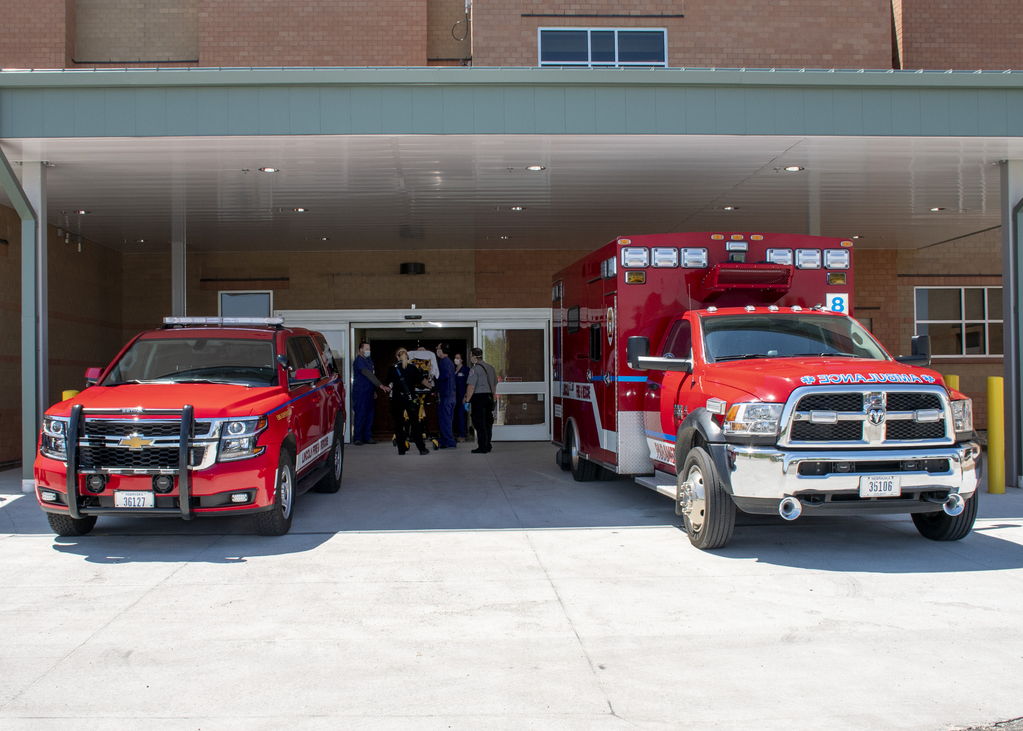 Nebraska Heart Ambulance Canopy 2